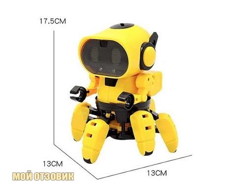 размеры робота