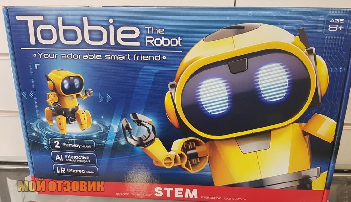 tobbie робот реальное фото
