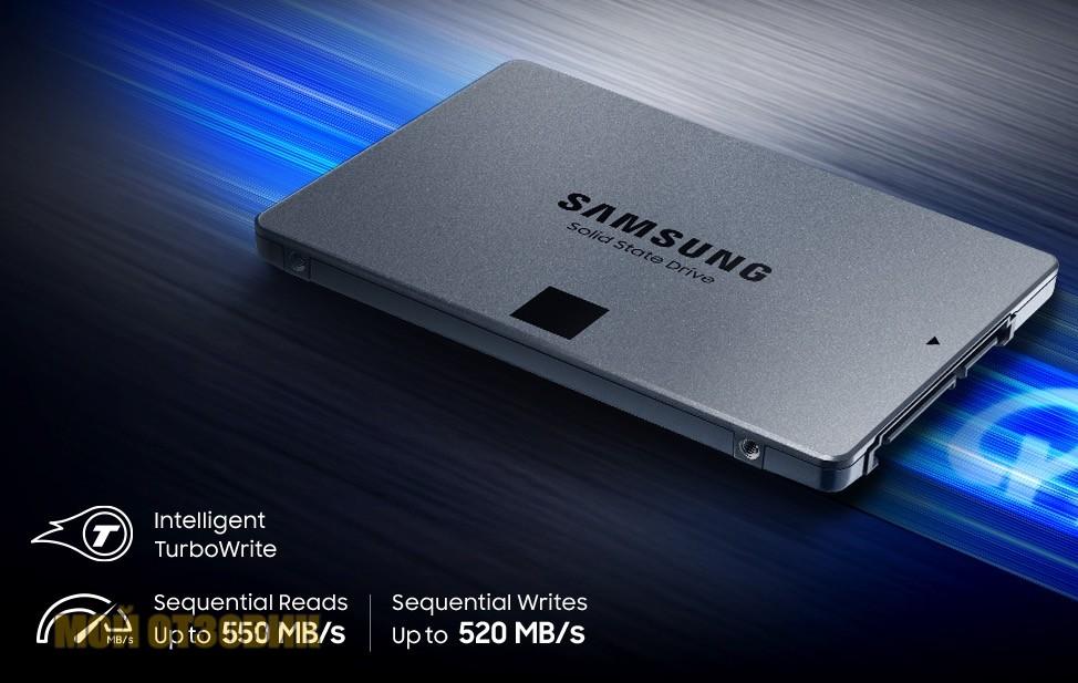 Samsung SSD 860 QVO 4ТB