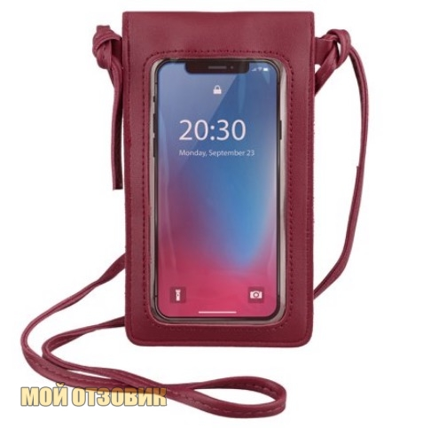 purse touch сумочка с сенсорным экраном