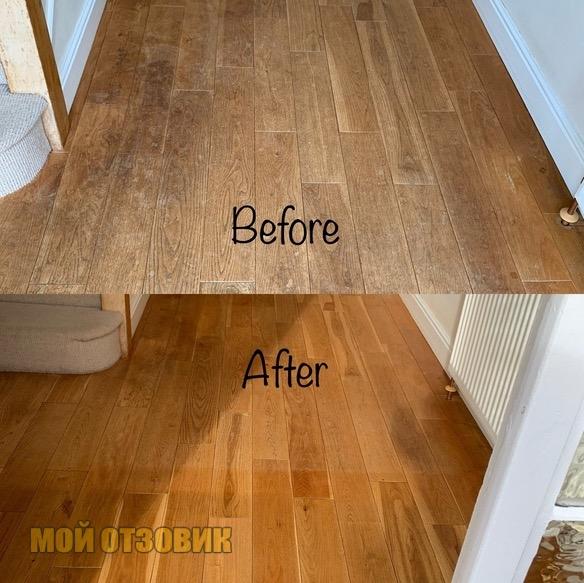 восстановление древесины цвета